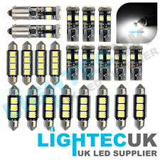 PREMIUM 22/pc BMW E46 3 SERIES LED INTERIOR UPGRADE KIT XENON WHITE LIGHT 6000K