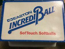 """Easton IncrediBall Softouch 11"""" softball balls new # Ws11"""