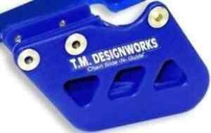 TM Designworks BLUE Factory 1 Chain Guide for Yamaha 96-07 YZ250 125 RCG-YSM-BU