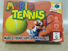 MARIO TENNIS- BOXED WITH BOOKLET- COMPLETE- PAL N64 NINTENDO- AUS