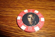 Governor The Walking Dead Photo Poker Chip,Golf Ball Marker,Card Guard Red