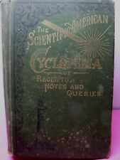 The Scientific American Cyclopedia of Receipts,notes and Queries, Antique Book,