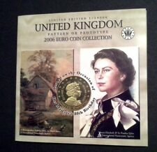 More details for 2006 uk 9 coin euro proof patterns 1c to €5 + certificate low mintage