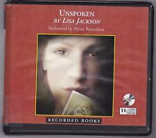 Unspoken by Lisa Jackson (2009, CD, Unabridged) Mysterious Thrilling Romance