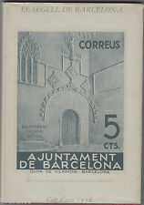 Catalogue the Seal of Barcelona (City Hall) by Joan B.Cendros - Year 1978