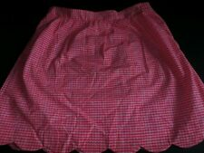 Lilly Pulitzer Maternity Skirt Sz Small Signature Print Basket Weave Pink Women