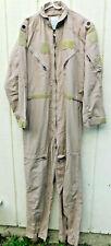 Flight Suit Tan Aramid CWU-27/P 44-Long Major Used