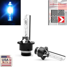2 X D4C D4S D4R 10000K Deep Blue HID Xenon Headlight Light Bulbs OEM Replacement