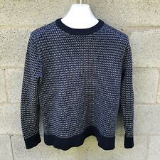 Patagonia Recycled Merino Wool Knit Sweater Mens XL Common Threads Fits Medium M