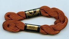 Dmc Coton Perle 5 #400 Dark Mahogany 100% Mercerized Pearl Cotton Thread 27yds