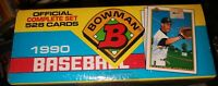 1990 Bowman Baseball Official Complete Set [Factory Sealed Box] 528 Cards