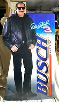 DALE EARNHARDT SR. #3 BUSCH Beer Life-size Stand-Up Cutout.  New.  6' Tall
