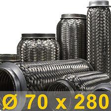flexibles Rohr Auspuff universal Ø 70 x 280 Länge (mm)