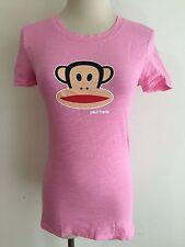 Paul Frank Cotton Top T-Shirt Tee Pink Size M