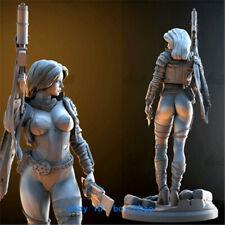 1/10 Scale 18cm Female Sci-Fi Range Resin Model Kits Unpainted 3D Printing Model