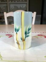 Vintage Weil Ware California Pottery Tumbler/Cup Bamboo Design, Hand Decorated