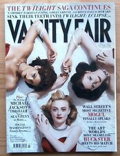 VANITY FAIR JUL 2010 ASHLEY GREENE BRYCE DALLAS DAKOTA FANNING MICHAEL JACKSON