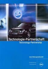 Brabus ARAL Partnerschaft Prospekt 6/04 car brochure Autoprospekt Auto PKWs 2004