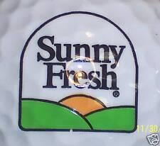 Food (1) Sunny Fresh Logo Golf Ball Balls