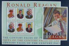 Grenada 2001 Ronald Reagan Politik US-Präsident 4883-85 + Block 664 MNH