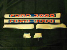 FORD 3000 Decal Set
