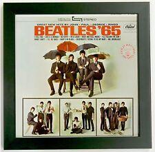 Record Album Frame -- Solid Wood Black LP Record Sleeve Art Frame