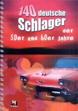 140 deutsche Schlager der 50er und 60er Jahre Noten A4