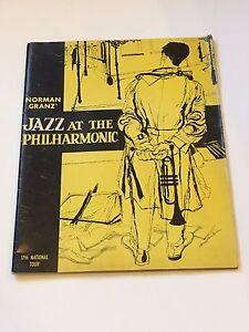 Norman Granz-Jazz at the Philharmonic 17th Tour Program Ella Fitzgerald
