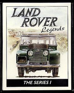 LAND-ROVER SERIES I LEGENDS 1948-58  Collectors Card Set - Hard Soft Top Pick-Up