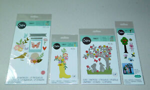 Spring Die Lot - All Sizzix Thinlits - 4 Packs - 50+ Dies