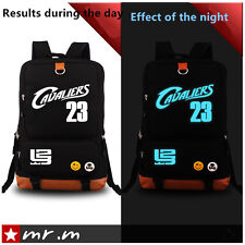LeBron James bag computer bag men bag backpack hip-hop  Luminous Schoolbags