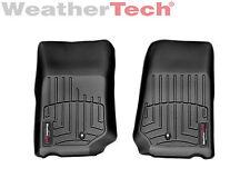 WeatherTech FloorLiner Mats for Jeep Wrangler/Unlimited - 07-13 - 1st Row -Black