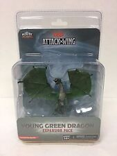 DD D&D Attack Wing Miniatures Young Green Dragon Expansion BRAND NEW