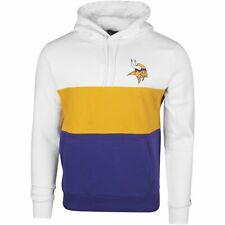New Era COLOUR BLOCK Hoody - NFL Minnesota Vikings