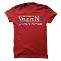 Elizabeth Warren T-Shirt America Election 2020 Presidential Candidate Women Tee