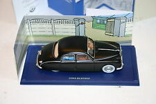 1/43 JAGUAR MK I SALOON MATTE BLACK LHD TAN INTERIOR EN VOITURE TIN TIN