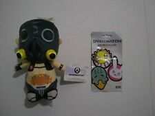 Funko Overwatch Roadhog Collectible Plush Figure And Blind Iron On Patch Pack