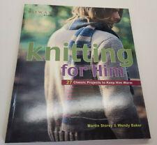 Rowan - Knitting for Him - Martin Storey & Wendy Baker