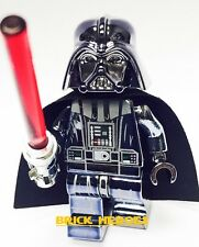 Custom Lego Star Wars Minifigure Chrome DARTH VADER Machine Pad Print