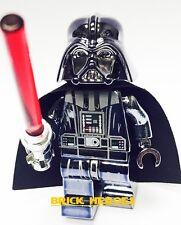 Custom Lego Star Wars Minifigure Chrome DARTH VADER Machine Pad Print