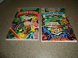 CAPTAIN VICTORY AND THE GALACTIC RANGERS LOT OF 10