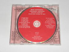 BEAT HAPPENING - CRASHING THROUGH BOX SET SAMPLER (RARE PROMO CD 2001) K RECORDS