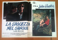 LA SAGGEZZA NEL SANGUE fotobusta poster Wise Blood Brad Dourif John Huston AF35