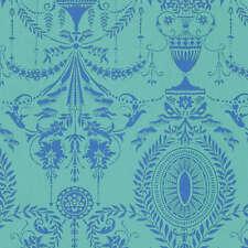 Caravelle Arcade - Elyse in Aqua - Half yard - Jennifer Paganelli - Fabrics4u2