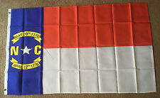 North Carolina state, State flag 3 X 5 ft. polyester 2 Grommet holes