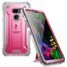 For LG G8 ThinQ | Poetic Full Coverage Shockproof Tough Back Cover Case Pink