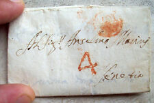 1761 Prephilatelic From San Martino To Tagliamento In Venice Cancellation Udine