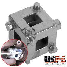 Car Vehicle Rear Disc Brake Piston Caliper Wind Back Cube Tools 3/8