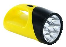 LED Torch Medium Sized Lightweight 8 LED Flash Light Torch Camping Torch