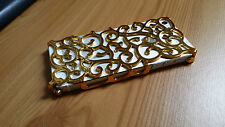 Electroplating Hollow Vine Flower Pattern Cover Case For Apple iPhone 5 5S 5G